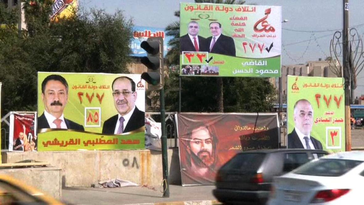 Předvolební kampaň v Iráku