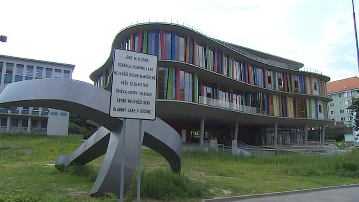 Nová knihovna v Děčíně