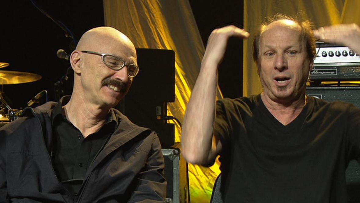 Tony Levin a Adrian Belew
