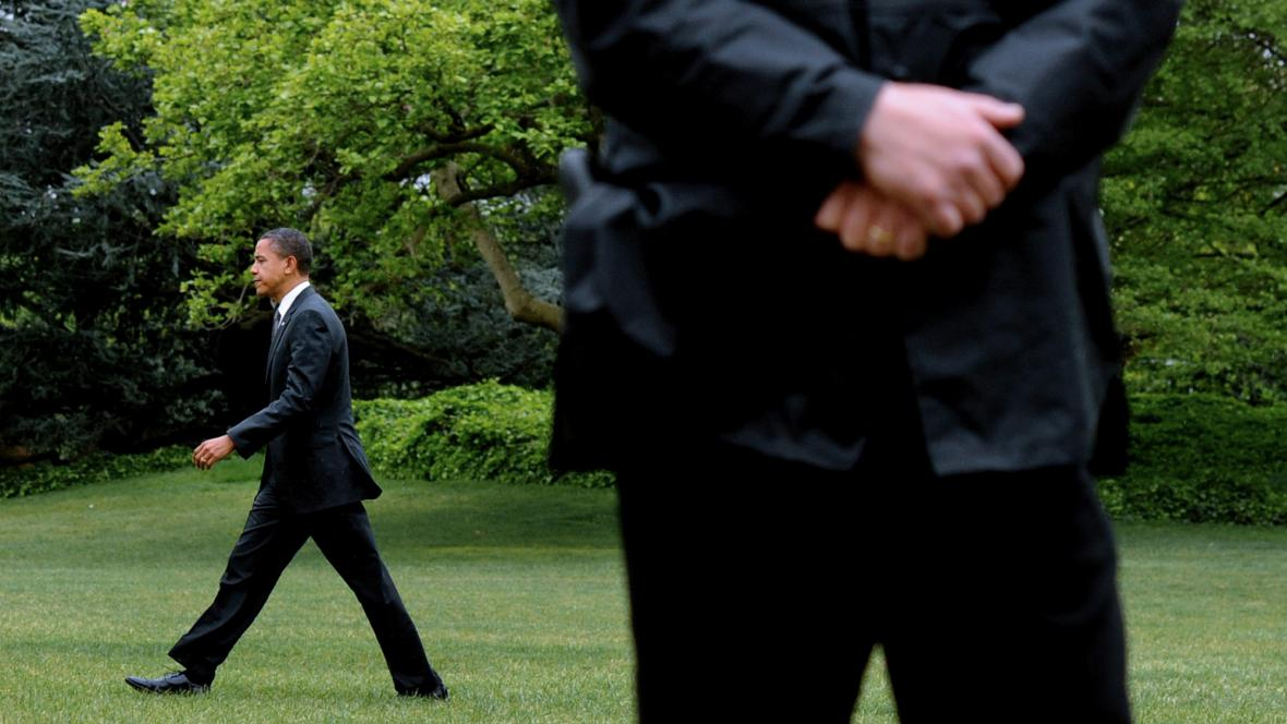 Ochranka Baracka Obamy