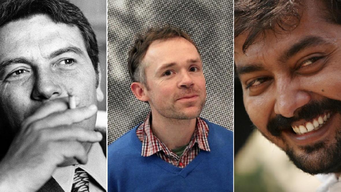 Zleva: Elio Petri, Ben Rivers, Anurag Kashyap
