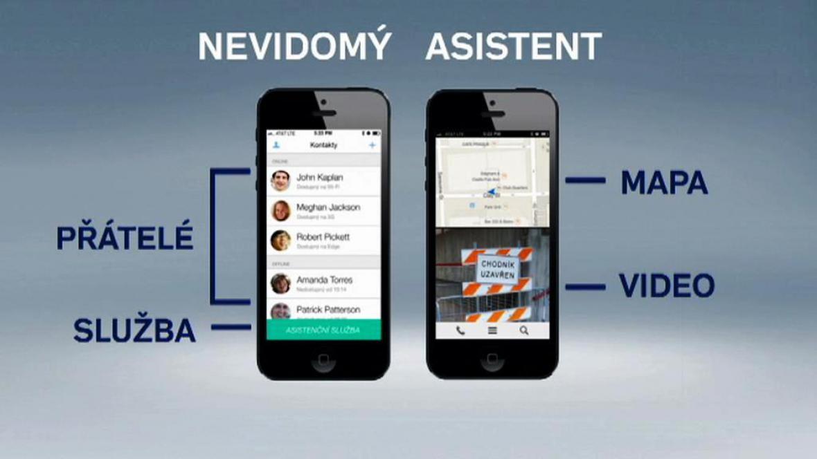 Aplikace pro nevidomé