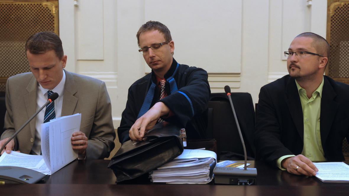 Jiří Trnka (vlevo) a Martin Půlpytel (vpravo)