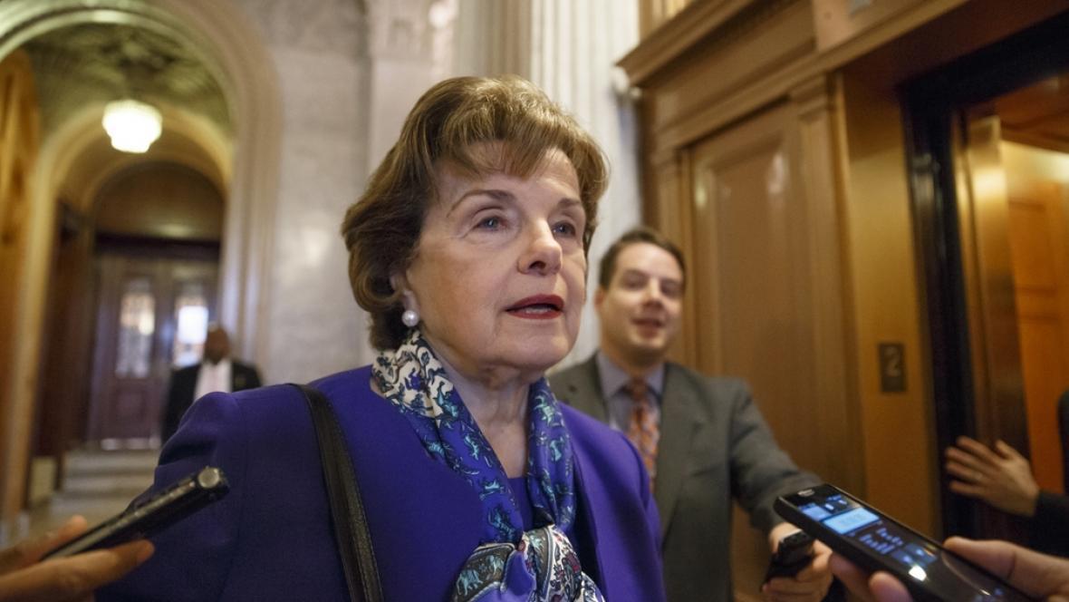 Senátorka Dianne Feinsteinová