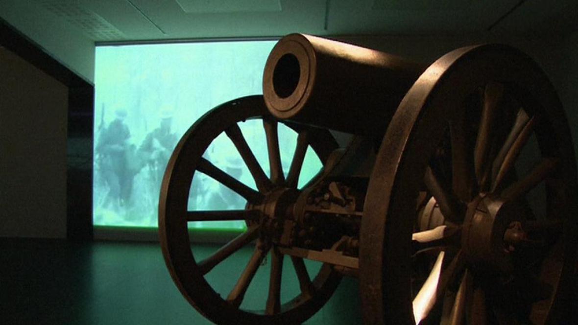 Výstava o prvoválečné Belgii v Královském vojenském muzeu v Bruselu
