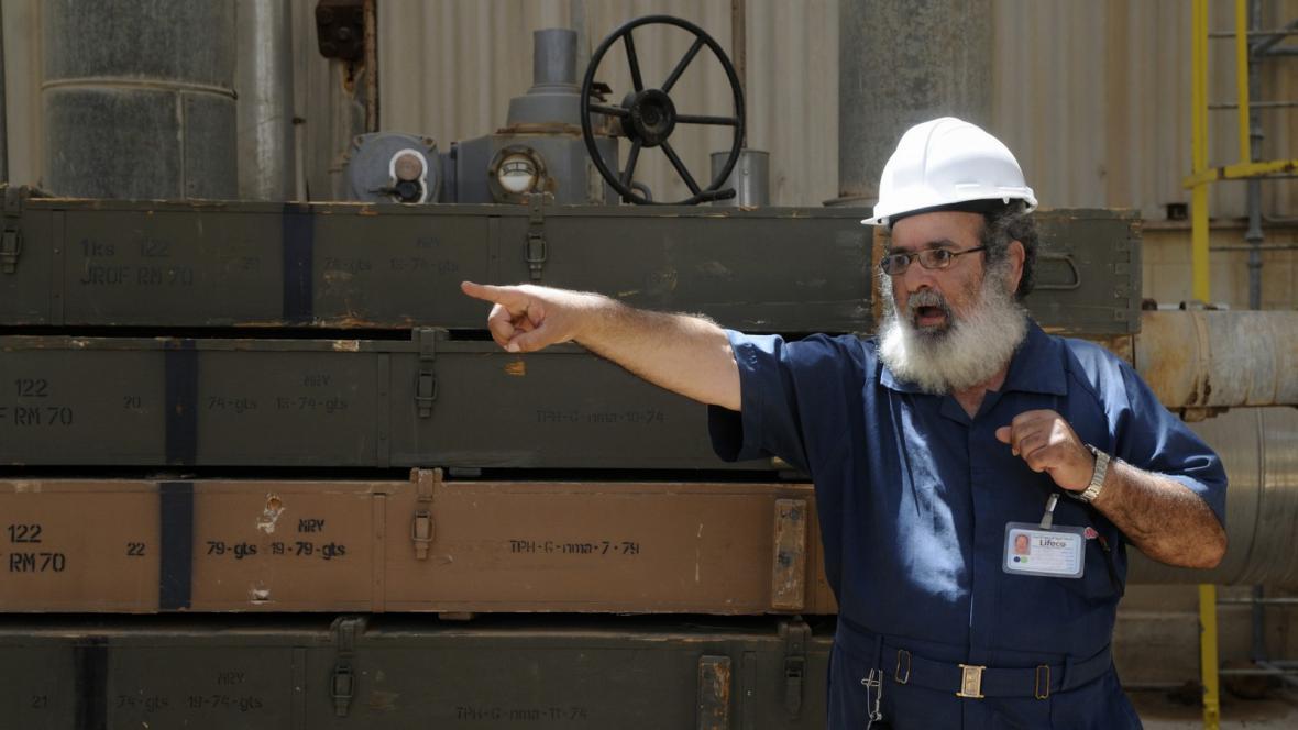 Ropný průmysl v Libyi