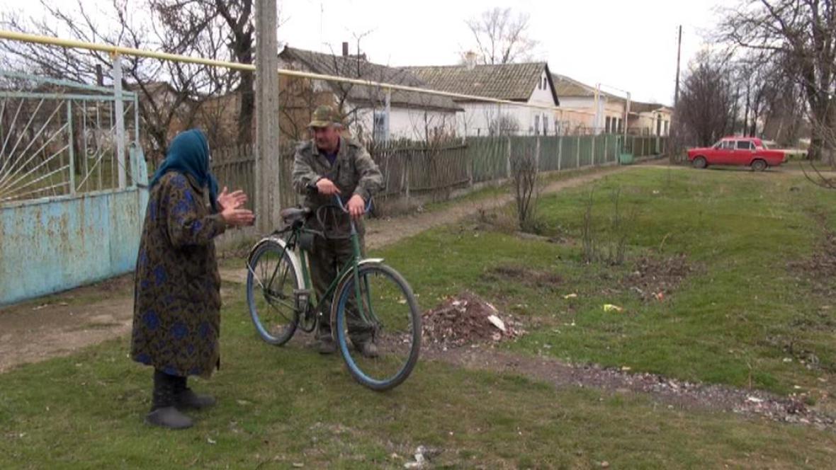 Češi v krymské vesnici Bohemka (Lobanovo)