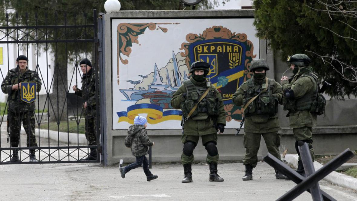 Ruští vojáci na Ukrajině