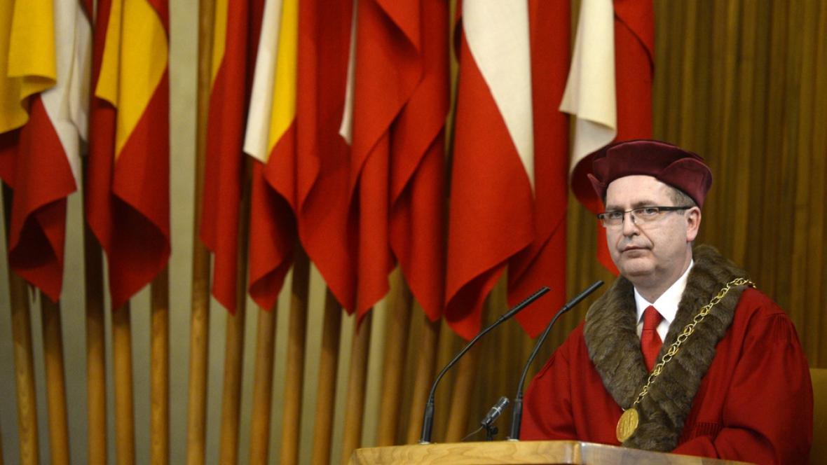 Rektor Univerzity Karlovy Tomáš Zima