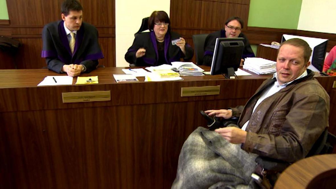 Leoš Páleníček u soudu