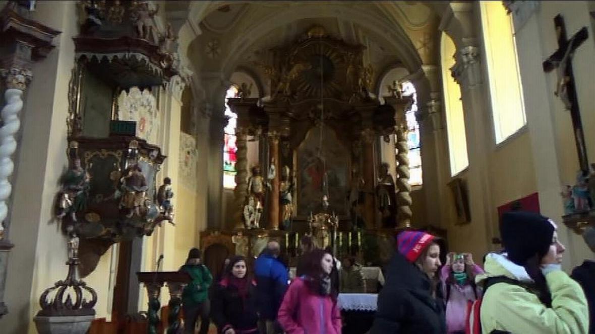 Kostel v Klenčí pod Čerchovem