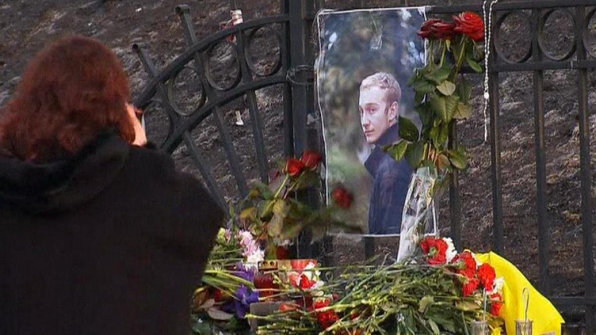 Pieta za studenta architektury Alexandra Plechanova