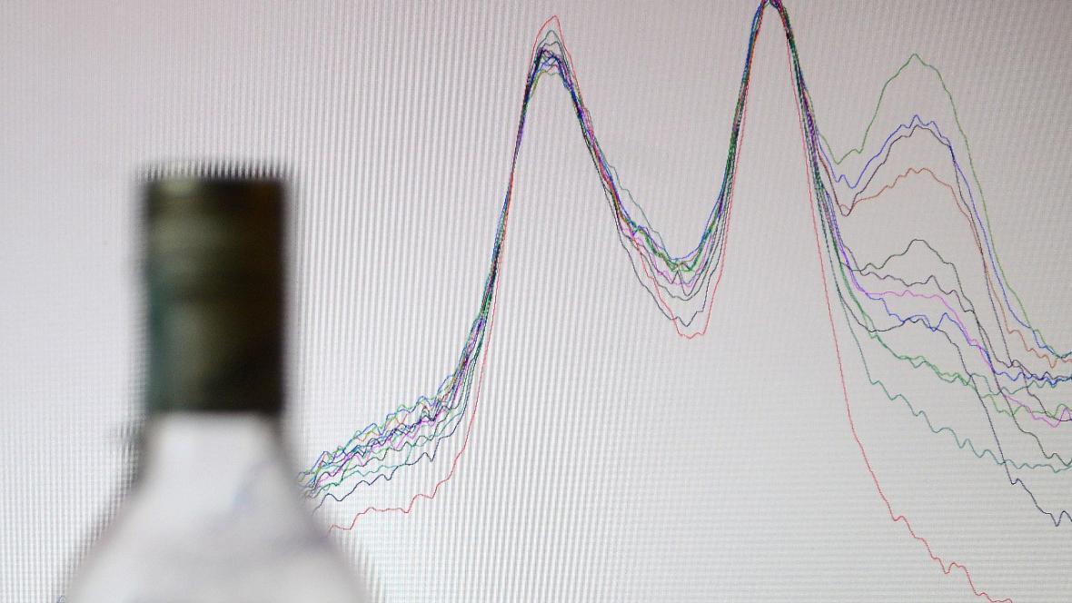 Analýza přítomnosti metanolu