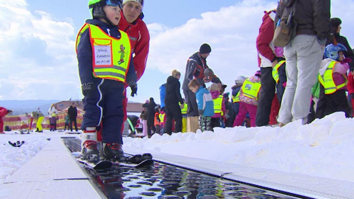 U Rakušanů bodují na Lipně hlavně lyžařské školky