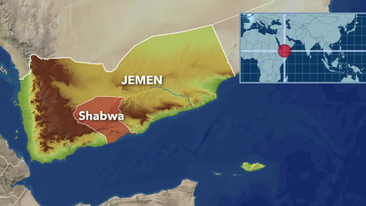 Mapa Jemenu
