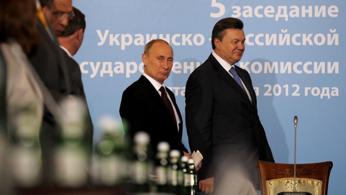 Vladimir Putin a Viktor Janukovyč