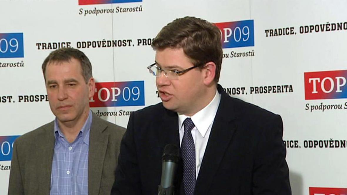 Jiří Pospíšil a Luděk Niedermayer