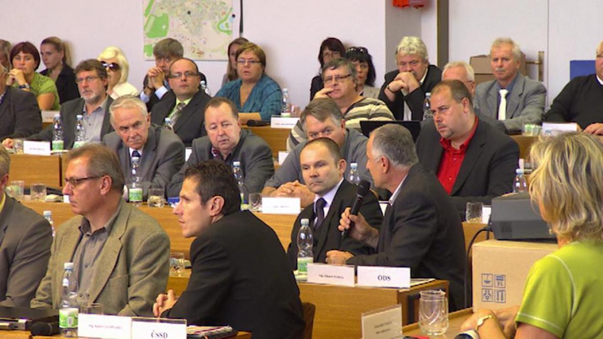 Diskuse mosteckých zastupitelů