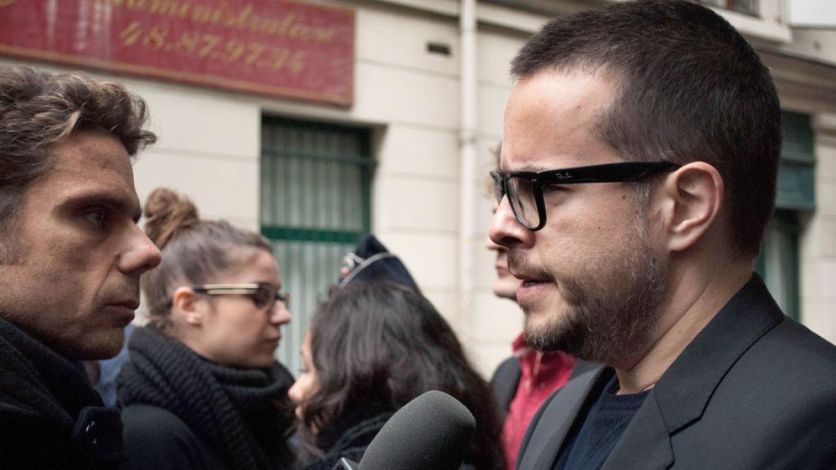 Odcházející šéf Libération Nicolas Demorand