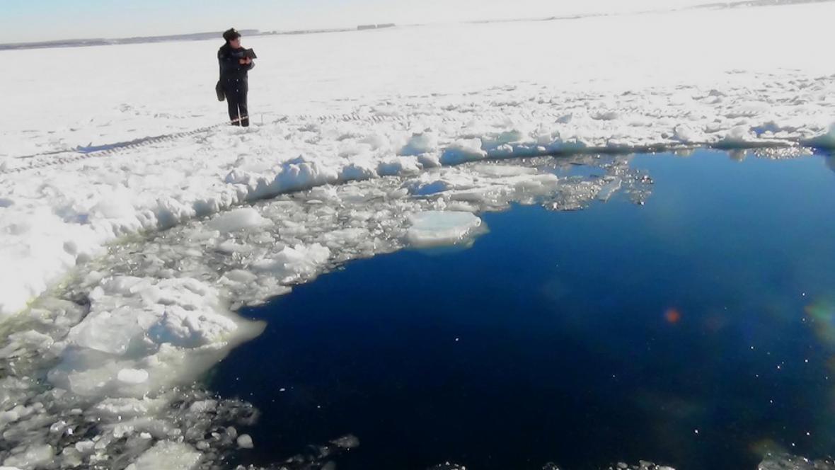 V Rusku dopadl meteorit