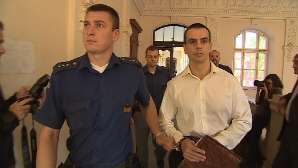 Bývalý elitní policista Martin Foltýn u soudu