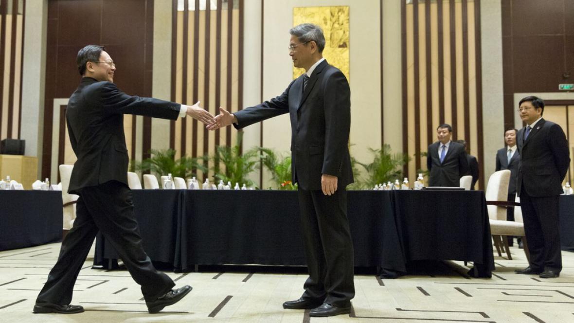 Setkání vysokých představitelů Číny a Tchaj-wanu