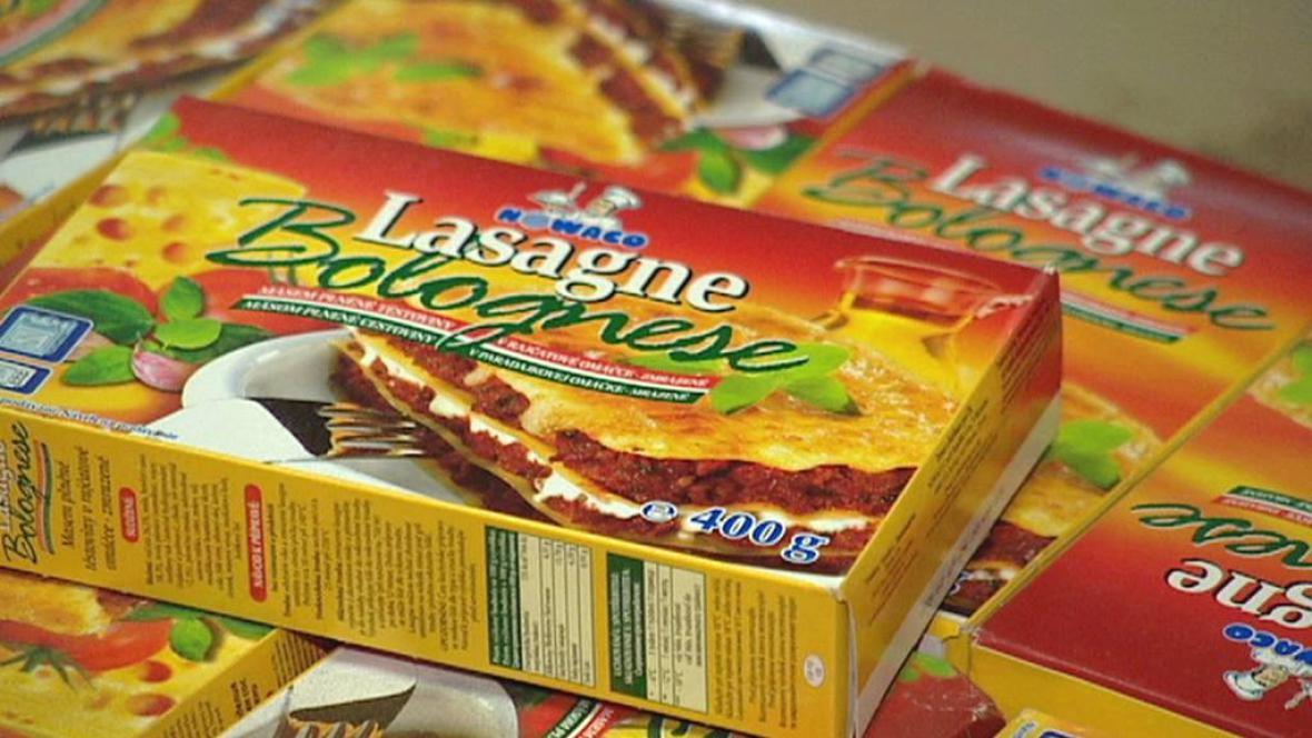 Lasagne s nedeklarovanou koninou