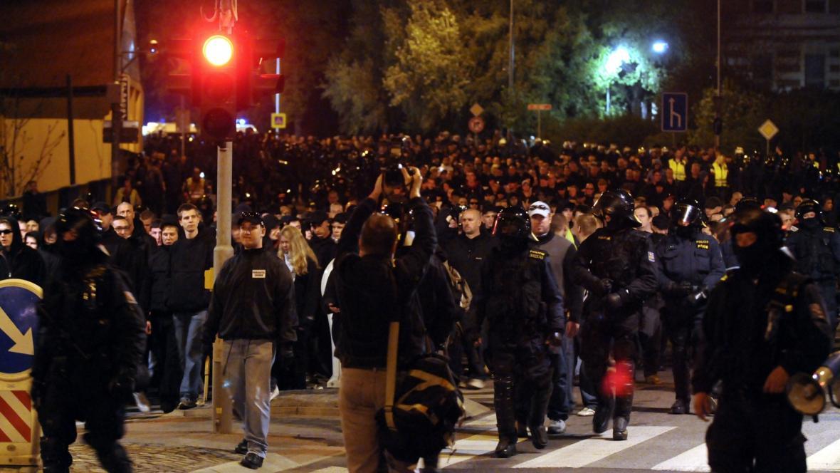 Pochod radikálů