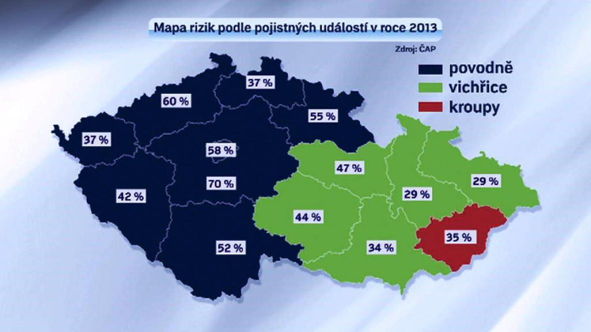 Mapa rizik 2013