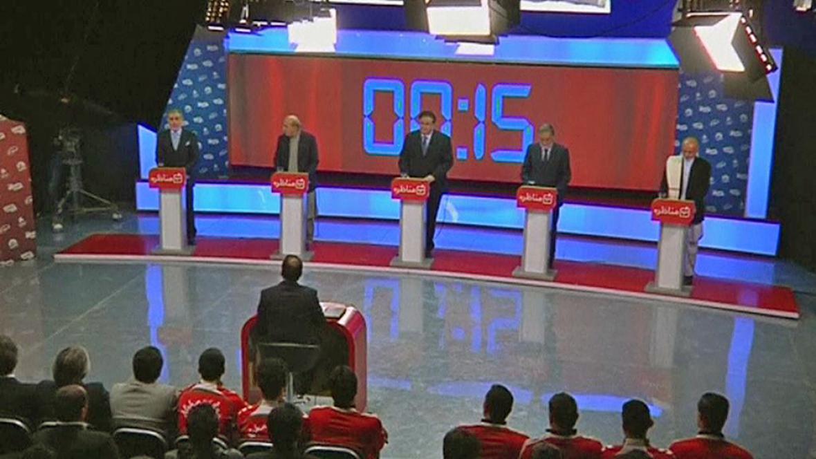 Prezidentská debata v Afghánistánu