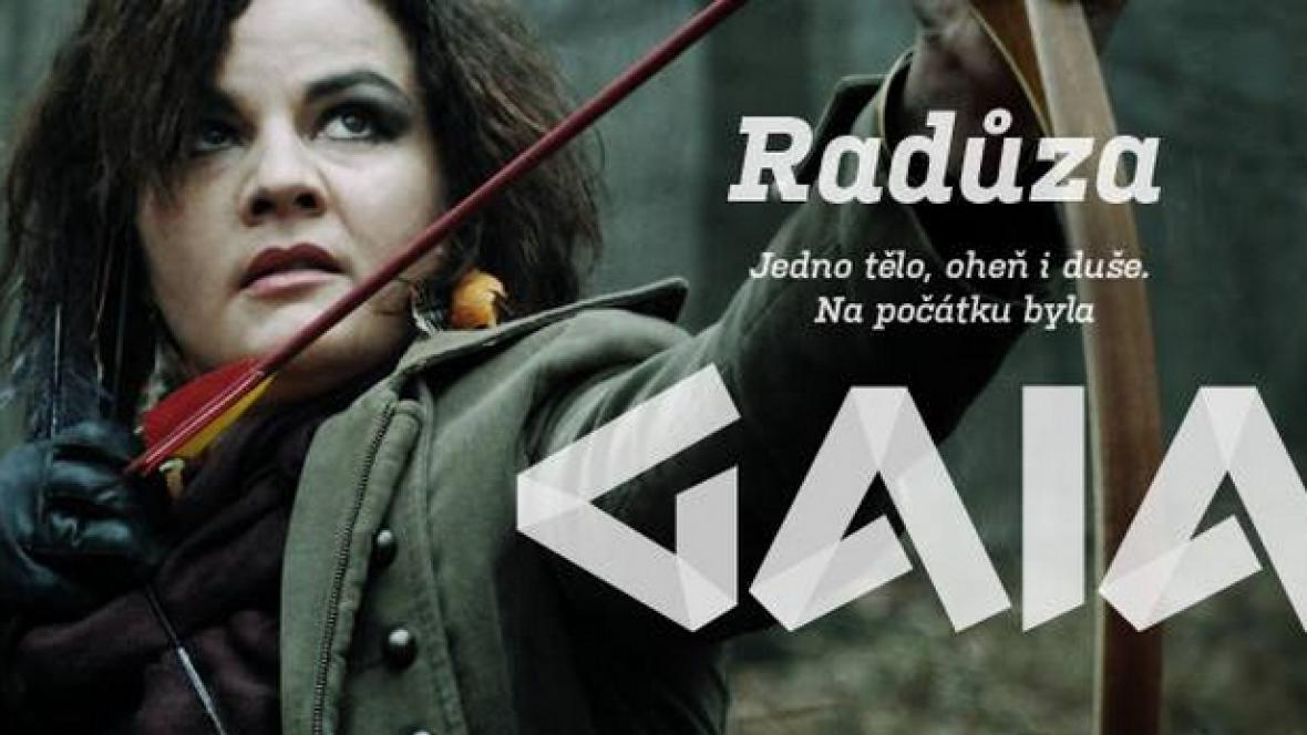 Radůza v upoutávce na album Gaia