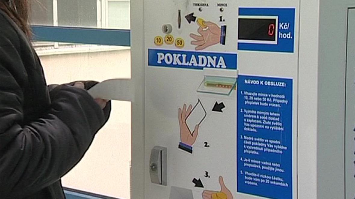 Automat na regulační poplatky