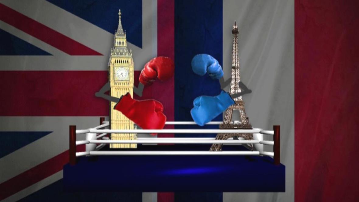 Souboj Londýna a Paříže
