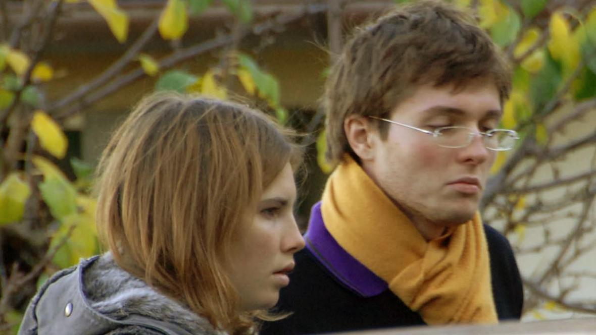 Amanda Knoxová a Raffaele Sollecito