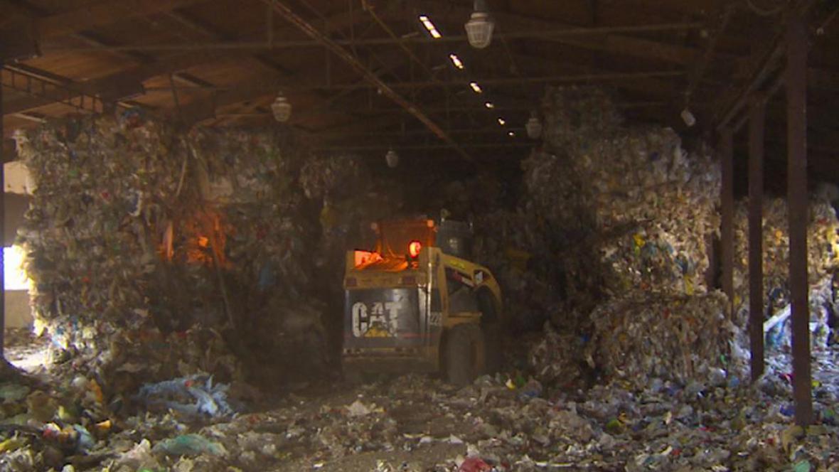 Likvidace odpadu v Arnolticích