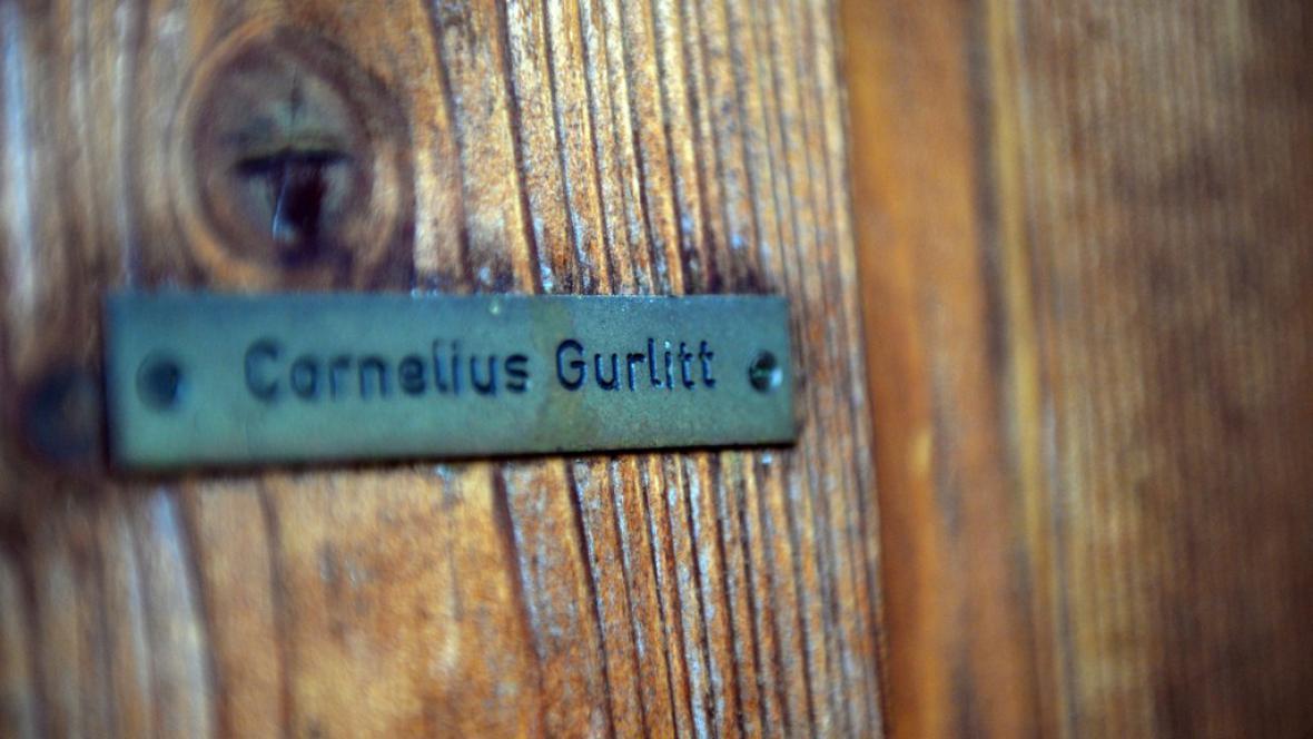 Dveře Gurlittova přístřešku