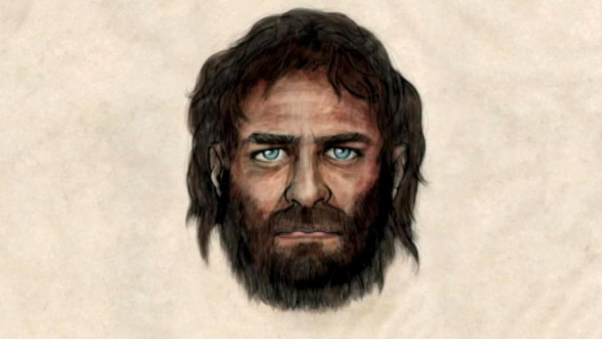 Podle vědců měl jeskynní člověk modré oči