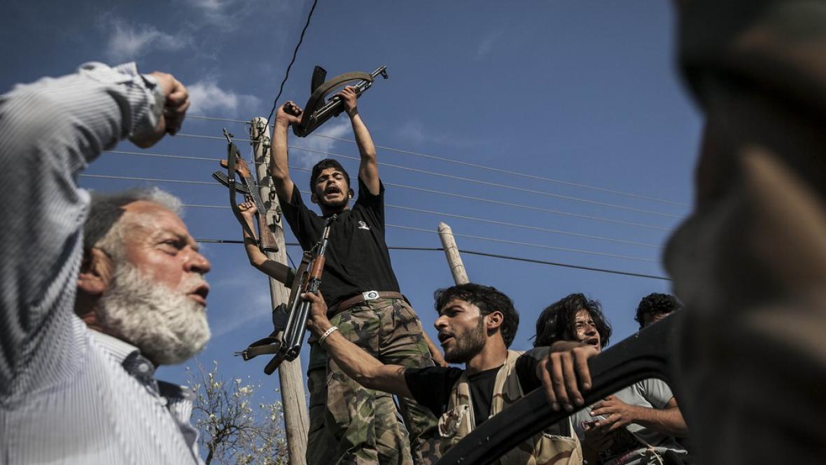 Boje v Sýrii