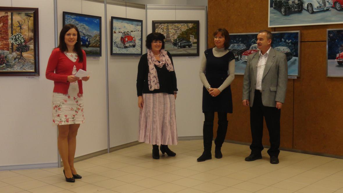 Výstava Věry Hejdové v Brně