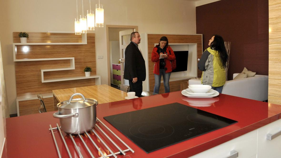 Kuchyň z dílny mírovských vězňů