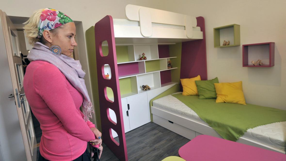 Vzorový byt s nábytkem z Mírova