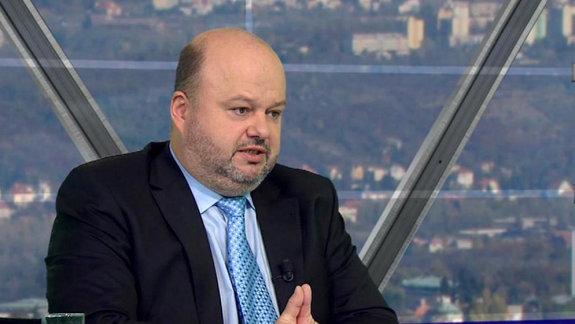 Ministr vnitra v demisi Martin Pecina