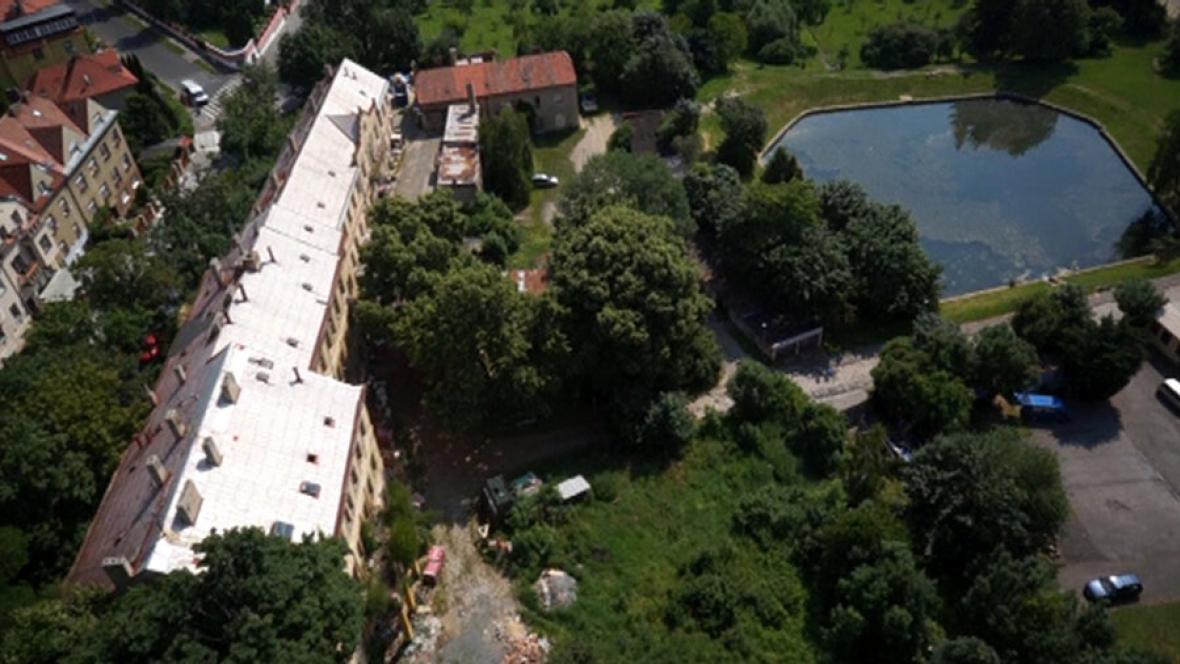 Areál bývalého Letohrádku Petynka – tzv. Vincentinum