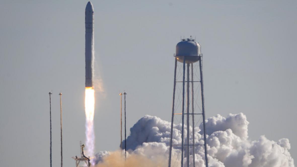 Soukromá loď Cygnus odstartovala k ISS