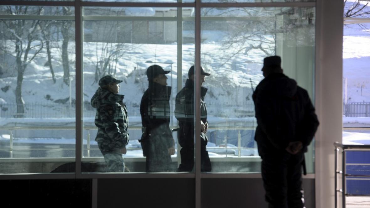 Zajištění bezpečnosti během ZOH v Soči