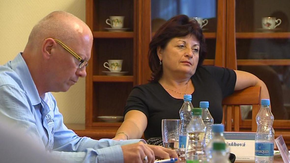 Pavel Kouda a Jana Vaňhová