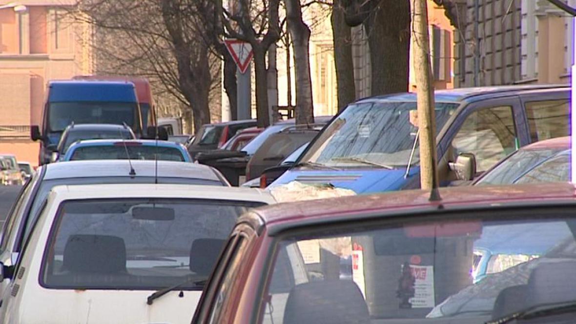 Parkování v Plzni