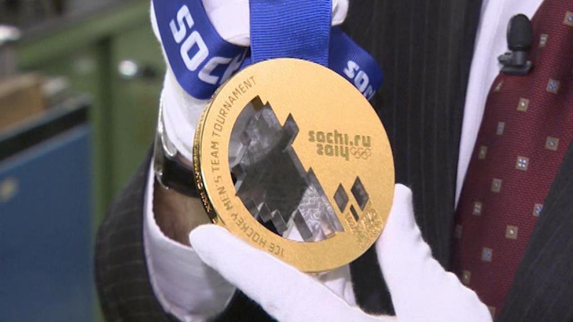 Zlatá medaile - tuto dostanou hokejisté