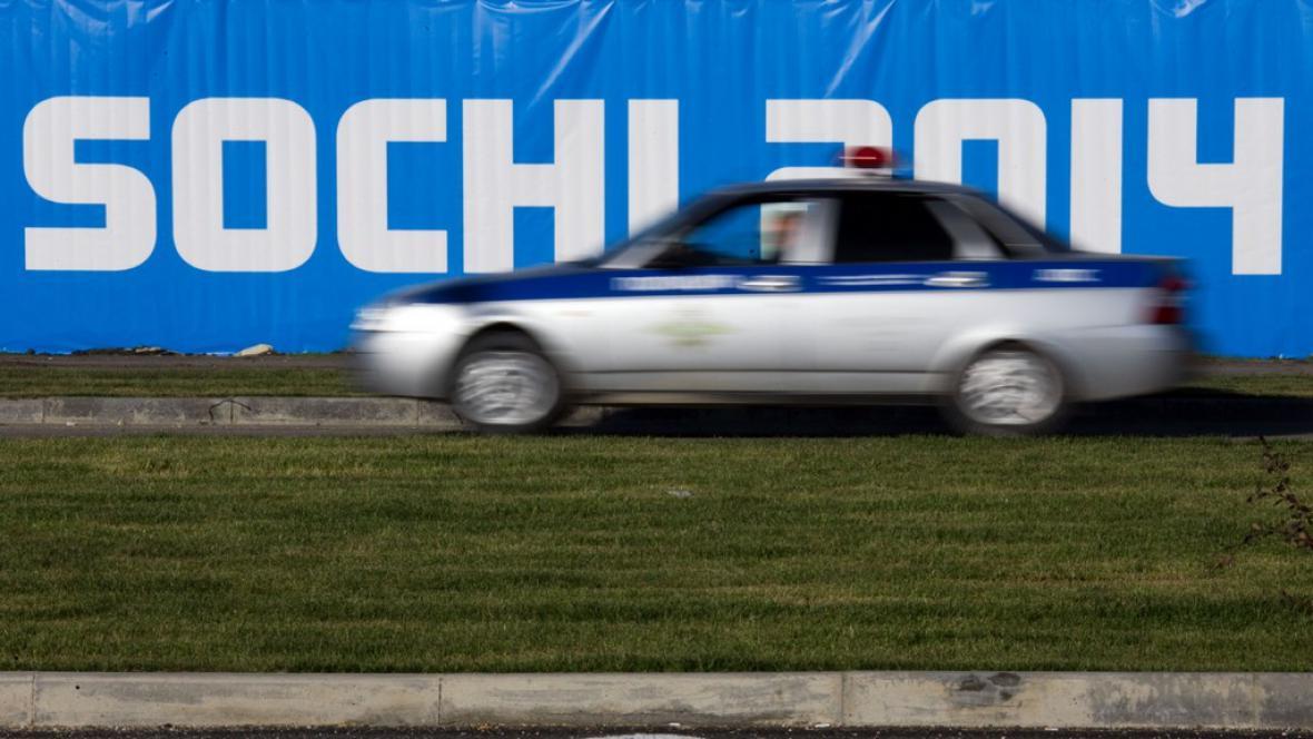Policie v Soči
