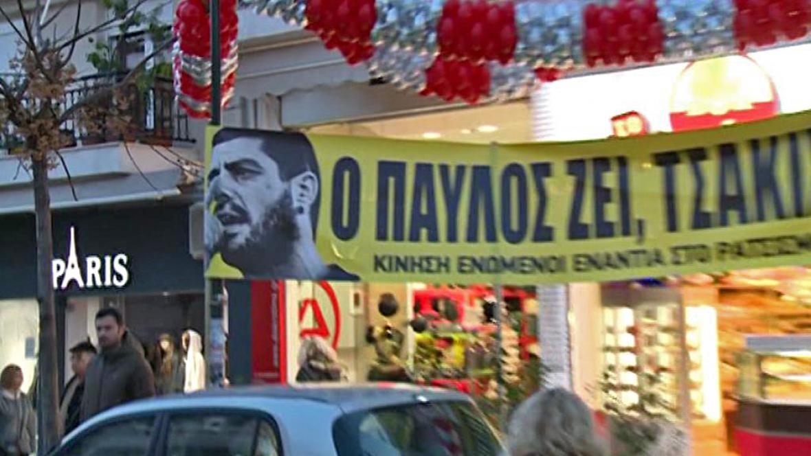 Hnutí Keerfa demonstrovalo proti rasismu a fašismu